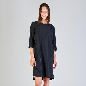 Damen Kleid Freya (Fair und Eco)  Black Modal - stoffbruch