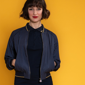 Staying Cool - Bomber Jacke, Polkadots - Mademoiselle YéYé