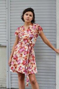 Wickelkleid Lydia aus Bio Baumwolle - ManduTrap