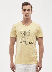 T-Shirt aus Bio-Baumwolle mit Eulen-Druck - ORGANICATION