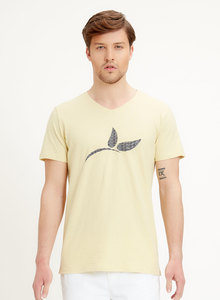T-Shirt aus Bio-Baumwolle mit Logo-Print - ORGANICATION