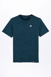 THYMUS, T-Shirt mit edler Stickerei für Männer - Green-Shirts