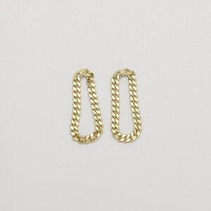 Ohrstecker 'drop chain'  - fejn jewelry