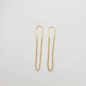 Ohrstecker 'long chain' - fejn jewelry