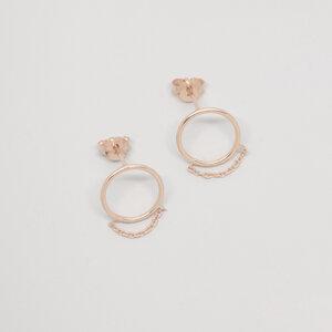 Ohrstecker 'filigree chain'  - fejn jewelry