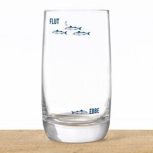 Kristallglas Ebbe & Flut - Bow & Hummingbird
