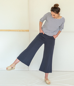 Stoffhose – Agnes Popelin Pants - Suite 13