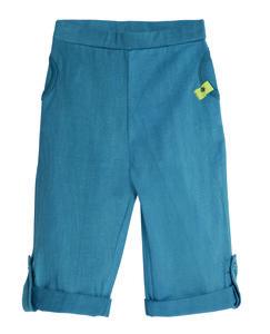 Living Crafts Baby Hose unisex 95% Baumwolle( bio) 5% Elasthan  devo blau Gr.62/68 - Living Crafts