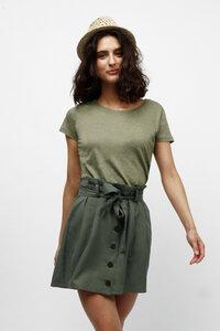 ACASIA, Basic T-Shirt für Frauen - Green-Shirts