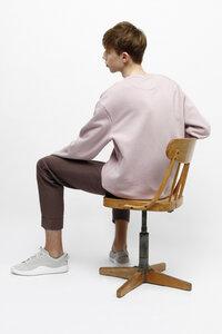 AMBER, Sweatshirt aus Bio Baumwolle für Männer - Green-Shirts