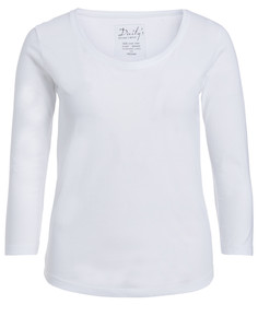 Damen ¾ - Arm Basic Shirt Biobaumwolle: ADANA - Daily's by DNB