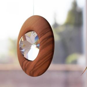 Fensterschmuck aus Holz zum Aufhängen Rivoli  - Mitienda Shop