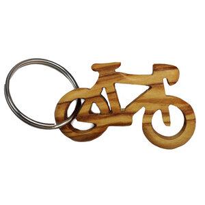 "Schlüsselanhänger aus Holz ""Fahrrad"" - Mitienda Shop"