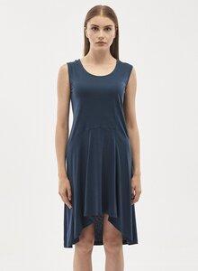 Kleid aus Tencel-Mix mit seitlichen Eingrifftaschen - ORGANICATION