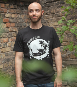 Death in Venice - Fair gehandeltes Männer T-Shirt - Black - päfjes