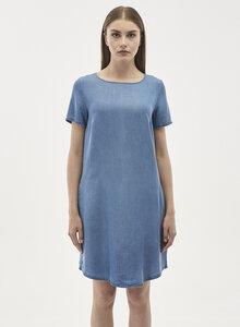 Kleid aus Tencel Denim mit seitlichen Eingrifftaschen - ORGANICATION