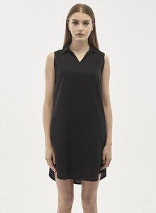 Kleid aus Tencel mit Hemdkragen - ORGANICATION