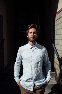 Hemd - Fabric Dyed Linen Shirt - KnowledgeCotton Apparel