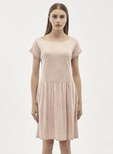 Kleid aus Tencel-Mix mit Allover-Print - ORGANICATION