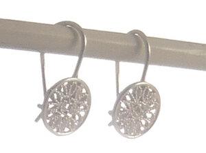 Ohrringe Schlaufen Silber - Filigrana Schmuck