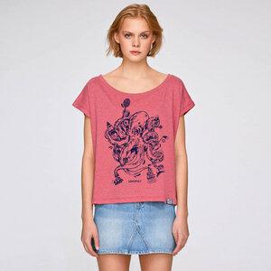 Cropped Shirt Octopus Summer aus Biobaumwolle - Gary Mash
