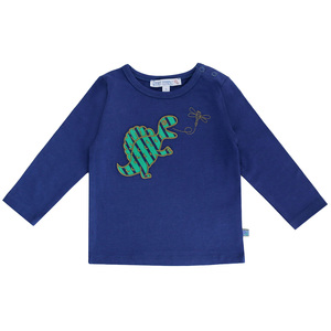 Baby Langarm-Shirt Dino  - Enfant Terrible