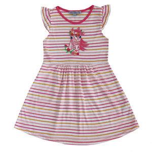 Mädchen Ringel-Kleid Pferde-Stickerei - Enfant Terrible