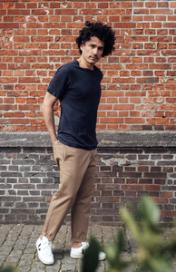Chino Hose - Loose chino pant - KnowledgeCotton Apparel