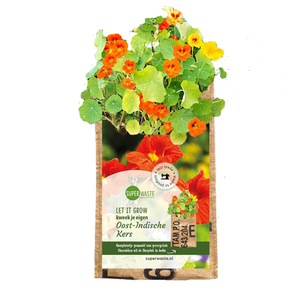 Let it grow - Hängegarten Blumen / Kräuter - Fairtrade Upcycling - SuperWaste