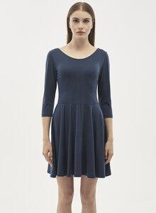 Jerseykleid aus Tencel-Mix mit 3/4-Ärmeln - ORGANICATION