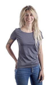 Fairwear Modal Basic Shirt Women Anthrazit - Life-Tree