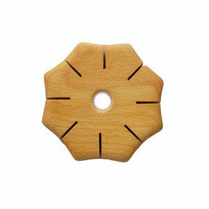 Knüpfscheibe aus Holz | Spielzeug und Beschäftigung für Kinder - Mitienda Shop