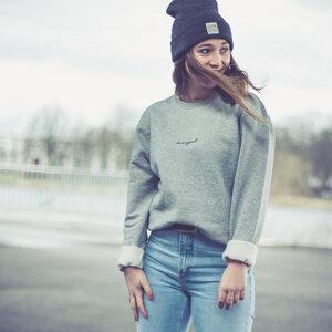 dressgoat – Unisex Sweater – Grey - dressgoat