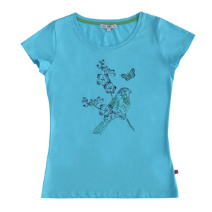 Damen T-Shirt Vogel - Enfant Terrible