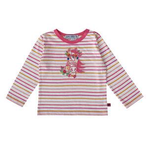 Baby Ringel-Langarm-Shirt Pferd - Enfant Terrible