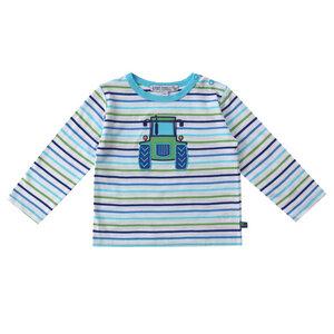 Baby Ringel-Langarm-Shirt Traktor  - Enfant Terrible