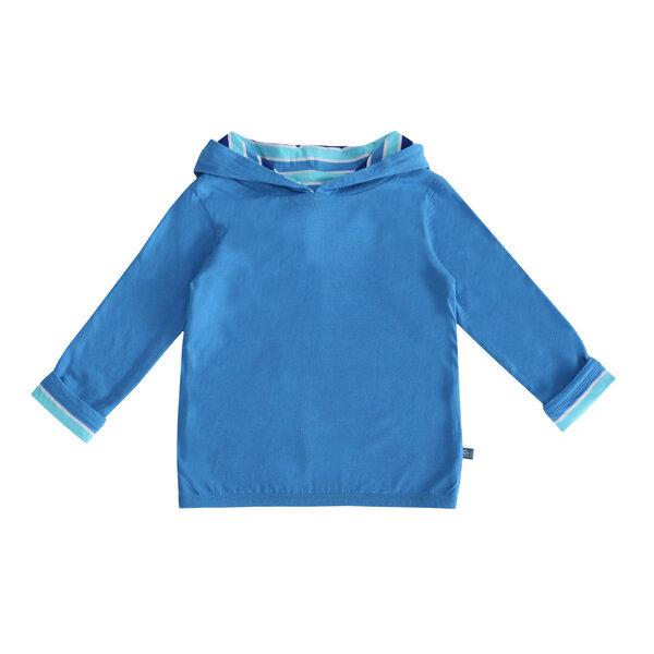 Kinder Wende-hoodie Streifen