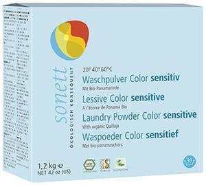 Waschpulver Color sensitiv  - Sonett