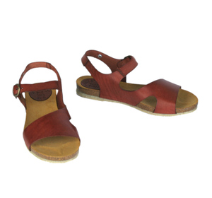 Sandale, geschwungene Form - Jonnys