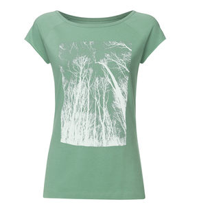 Bio & Faires Damen Raglan T-Shirt Forest #3 -cabbage - ilovemixtapes
