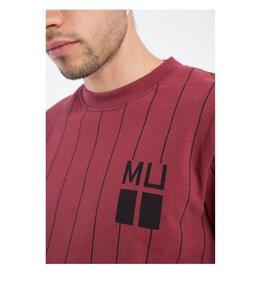 Vertical Stripes Sweatshirt - thinking mu