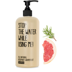 All Natural Rosemary Grapefruit Shampoo - Stop The Water While Using Me!
