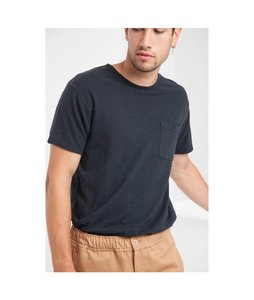 Hemp T-Shirt Pocket - thinking mu