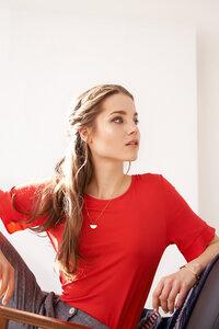 T-shirt Berry aus Viskosejersey - ME&MAY