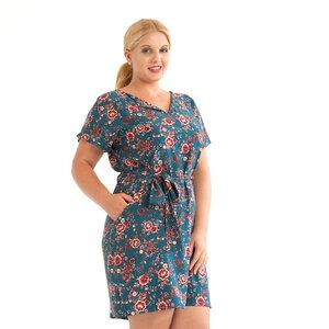 """Kleid """"Aster"""" aus Viskose mit Blüten - WiDDA berlin"""