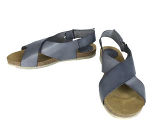 flache Sandale mit überkreuzten Riemen - Jonnys