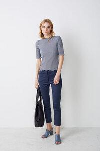 7/8-Hose aus Bio-Baumwolle GOTS-zertifiziert - Lana naturalwear
