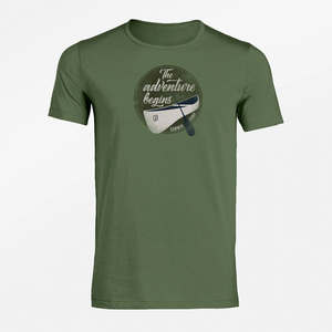 T-Shirt Adores Slub Nature Adventure - GreenBomb