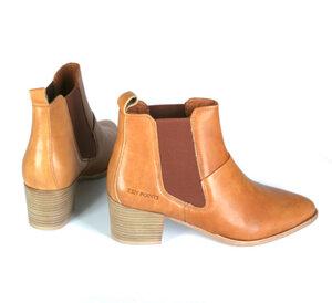 Boots, vegetabil gegerbtes Leder - Ten Points
