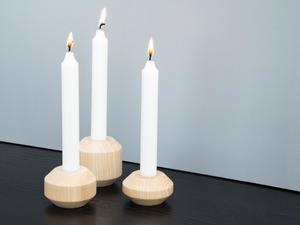 Holz Kerzenständer TAKKS - kommod